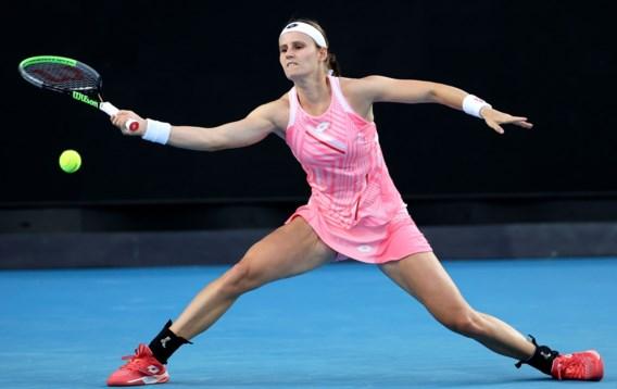 Greet Minnen is niet opgewassen tegen Petra Kvitova