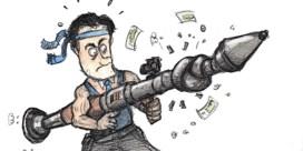 Banken omzeilen bazooka regering met dure kredieten