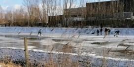 Schaatsers gespot in Beveren: 'Mag niet'
