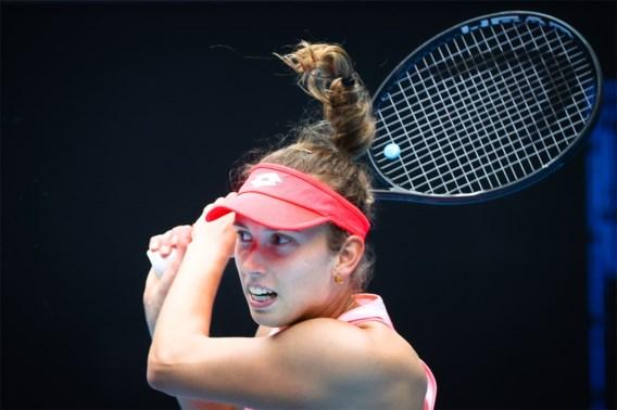 Australian Open: Elise Mertens plaatst zich voor tweede ronde na zege tegen Leylah Fernandez