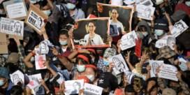 'De protesten zullen werken. Heel Myanmar doet mee'