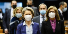 Pro-Europese fracties sparen Von der Leyen
