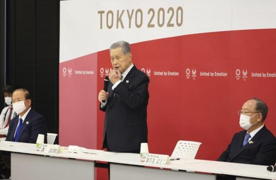 Yoshiro Mori geeft zijn ontslag als voorzitter van het organisatiecomité