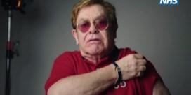 Elton John spot met zichzelf in promofilmpje voor vaccin