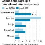 Brexit is 'big bang' voor beurzen in Amsterdam