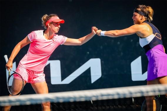 Australian Open: Mertens en Sabalenka naar achtste finales dubbelspel na forfait Brady en Barty