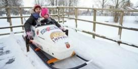 Let bouwt bobsleebaan van 170 meter in achtertuin