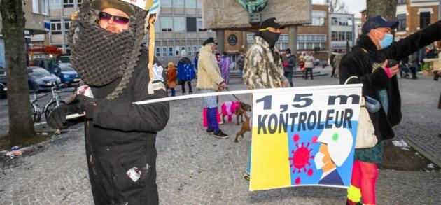 Toch een klein beetje carnaval in Aalst