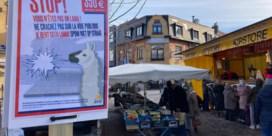 Opvallende campagne in Jette: 'Je bent geen lama, spuw niet op straat'