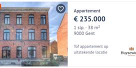 Hoge verkoopprijzen en stijgende huurprijzen op Gentse vastgoedmarkt