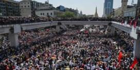 Betogers Myanmar bedenken 'kapotte auto'-tactiek