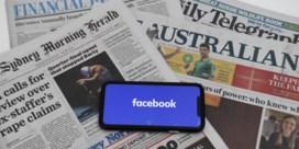 Facebook bant nieuws uit Australië