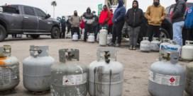 In Texas vriest het zo hard dat olie en voedsel schaars worden