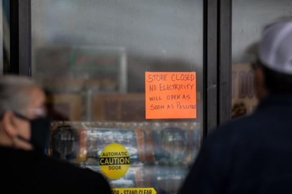 Nog 325.000 huishoudens in Texas zonder elektriciteit, Witte Huis: 'Extreme koude gevolg van klimaatverandering'