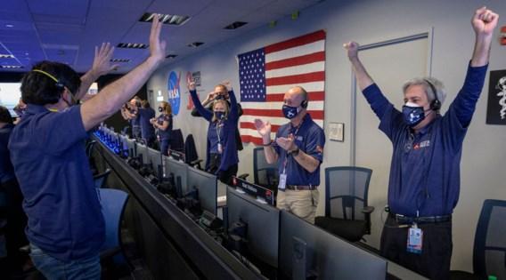 Nasa brengt landing op Mars tot goed einde