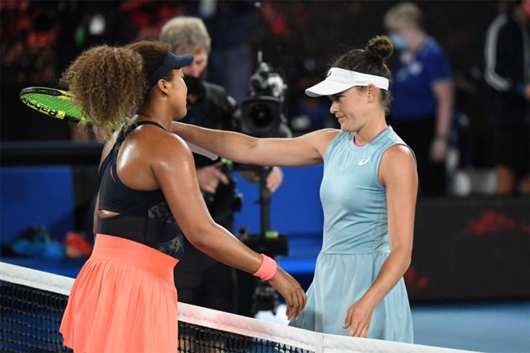 Osaka verslaat Brady en wint Australian Open