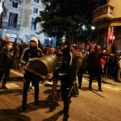 Relschoppers gaan voor zesde nacht op rij confrontatie aan met politie in Barcelona