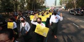 Nationale staking neemt Myanmar over