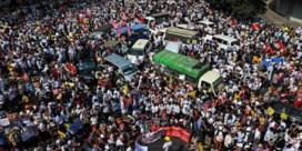 Myanmarezen leggen het hele land plat en dagen junta uit