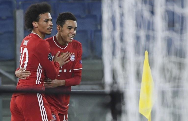 Titelverdediger Bayern dolt met Lazio en staat met anderhalf been in kwartfinales van de Champions League