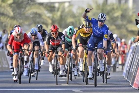 Sam Bennett snelt naar ritwinst in UAE Tour