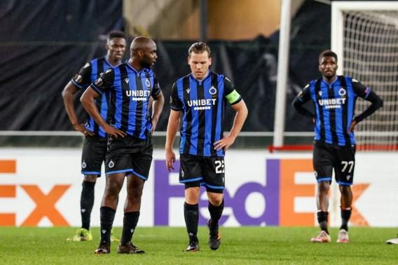 Club Brugge verliest met 0-1 van Dinamo Kiev en is Europees uitgeschakeld