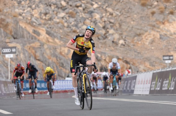 Deen Vingegaard wint in UAE Tour, De Gendt pakt puntentrui