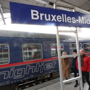 Nederlanders plannen nieuwe nachttrein, ook vanuit België