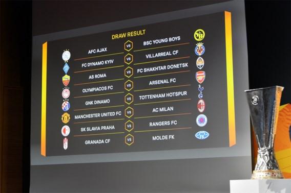 Loting Europa League   Zlatan Ibrahimovic mag met AC Milan op bezoek bij ex-club Manchester United