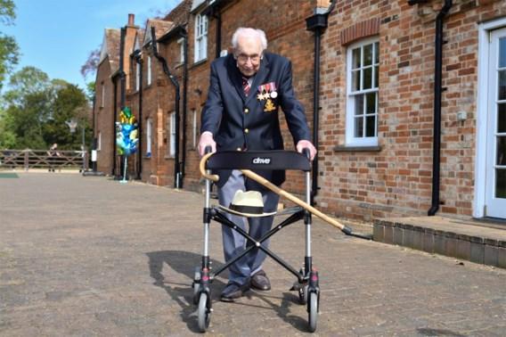 Britse oorlogsveteraan Tom Moore (100) besmet met coronavirus