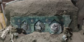 Romeinse triomfwagen met erotische taferelen in Pompeii is 'unieke ontdekking'