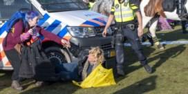 Opnieuw anti-coronabeleidsactie ontbonden in Amsterdam