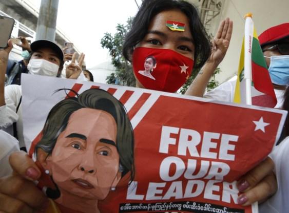 Aung San Suu Kyi verschijnt 'in goede gezondheid' voor rechter