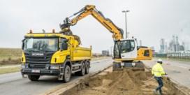 Ook op Antwerpse rechteroever is bouw Scheldetunnel begonnen
