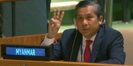 Ambassadeur Myanmar en junta claimen allebei stoel bij Verenigde Naties: 'Lang niet meer gezien'
