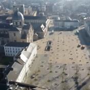 Drone toont hoe krijtcirkels meteen hun nut hebben in Gent