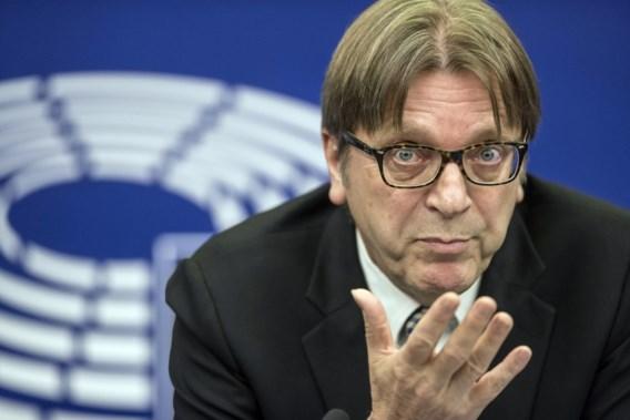 Verhofstadt past voor 'bureaucratisch circus'