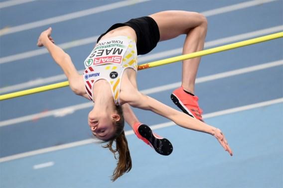 EK indoor | Geen finale voor Merel Maes in hoogspringen