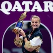 Petra Kvitova stoomt in Doha naar 28e WTA-titel
