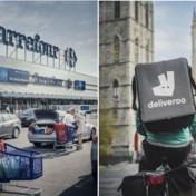 Carrefour gaat met Deliveroo in zee