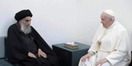Historisch: Paus ontmoet sjiitische grootayatollah Ali Sistani