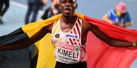 EK indoor   Isaac Kimeli pakt zilver op de 3.000 meter