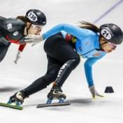 Hanne Desmet schaatst naar zilver op WK shorttrack