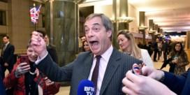 'Mr Brexit' Nigel Farage stapt uit de politiek
