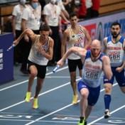 EK indoor | Belgian Tornados eindigen pas als vierde op de 4x400 meter