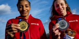 Gouden en zilveren kampioenen Thiam en Vidts reageren: 'Heel blij, maar heel moe'