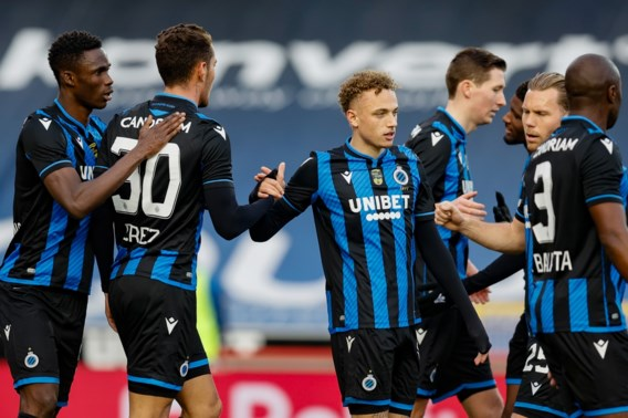 Club Brugge spoelt bekerkater door met vlotte zege tegen Zulte Waregem