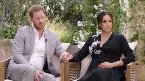 Meghan en Harry bij Oprah: 'Brits koningshuis maakte zich zorgen om huidskleur zoon Archie '