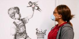 Banksy veilt werk om geld op te halen voor Britse gezondheidsdienst