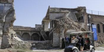 Paus rondt Irak-reis af: 'Broederschap is duurzamer dan broedermoord'